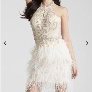 01d9c753a31 Women s Jovani Feather Dress on Poshmark